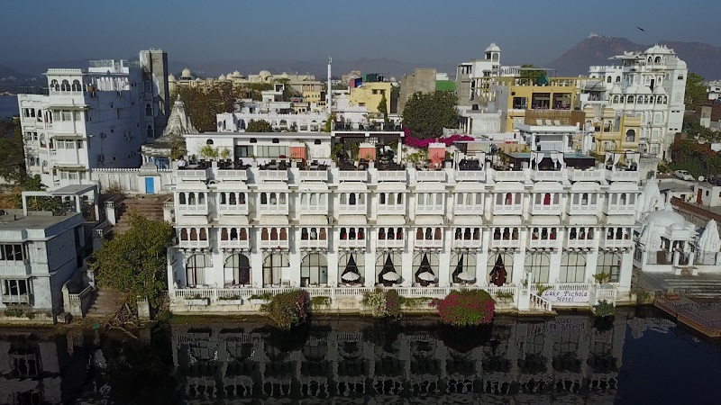Lake Pichola Hotel Udaipur Rajasthan heritage stunning reflection in lake pichola